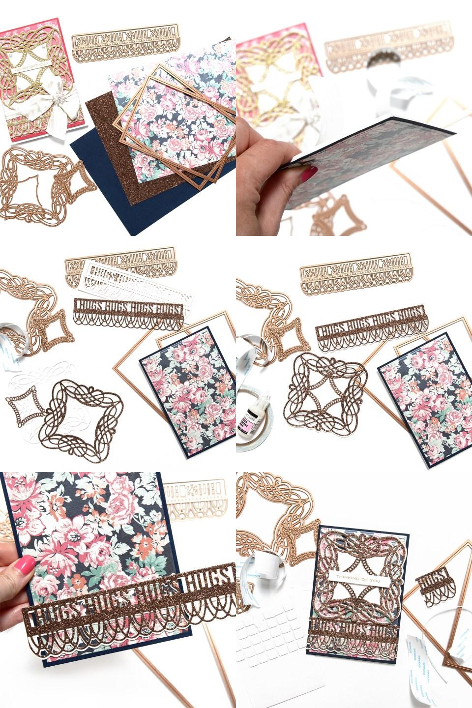 Happy Birthday Card - One Card Design 2 Ways by Yana Smakula for Spellbinders