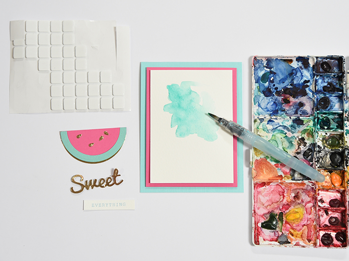 So Sweet Watermelon Birthday Party - Sweet Birthday Card