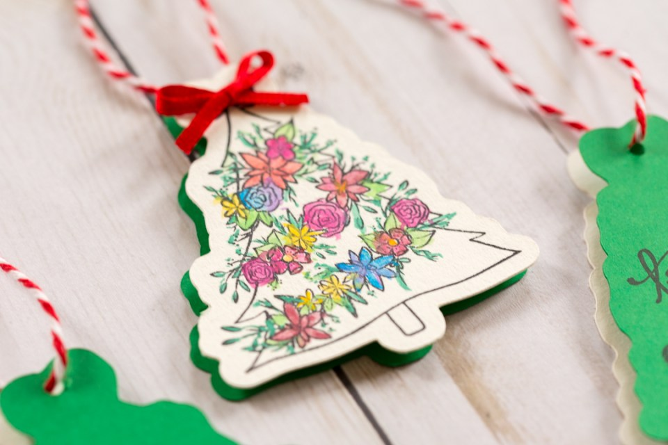 Creating Open Me Holiday Gift Tags by Alli Roth Step 6