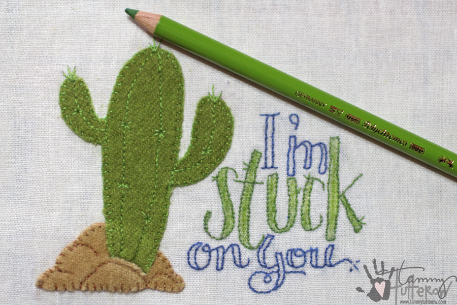 Easy Steps to Use Stamps in Embroidery: Step 15