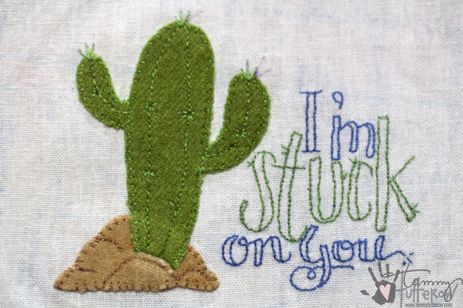 Easy Steps to Use Stamps in Embroidery: Step 13