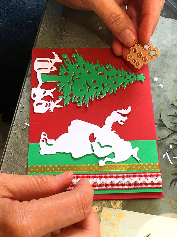 Santa Christmas Card Party with Sharyn Sowell - Step 5