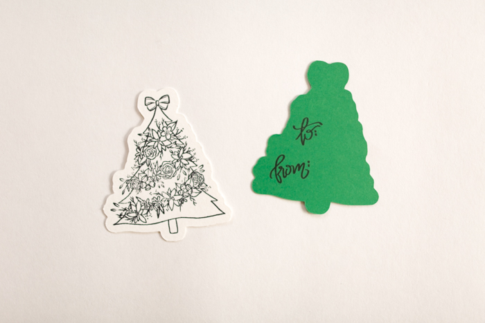 Creating Open Me Holiday Gift Tags by Alli Roth Step 2A