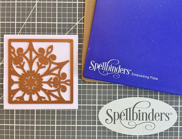 Easy Festive Mini Card in Minutes Step 1