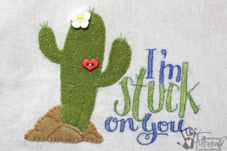 Easy Steps to Use Stamps in Embroidery: Step 16