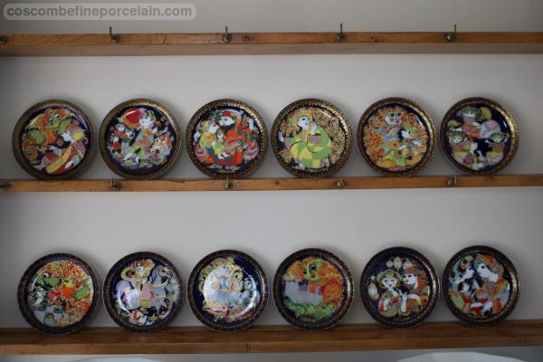 Rosenthal plates Aladdin Set of 12