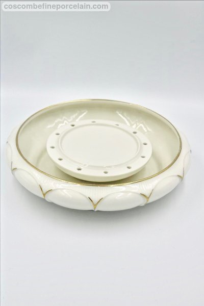 Art Deco flower bowl