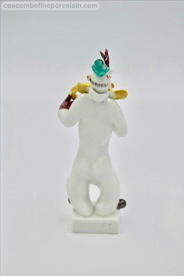 Meissen Clown French Horn