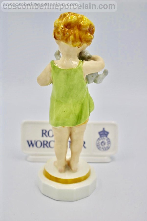 Royal Worcester Wednesday's child