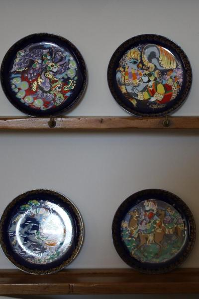 Sinbad the Sailor plates