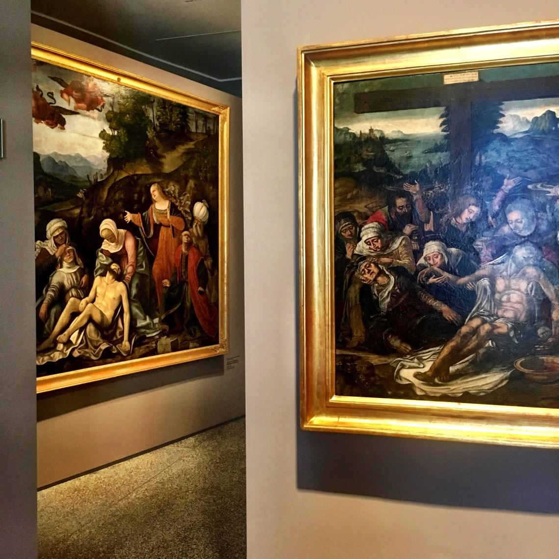 L'acqua nelle opere dell'Accademia Carrara