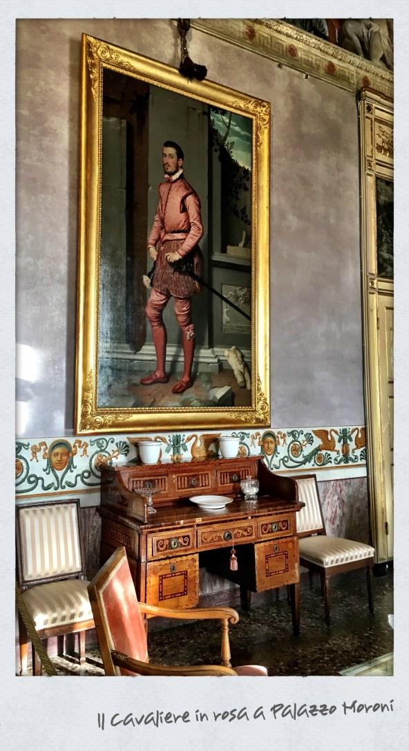 Il Cavaliere in Rosa di Moroni a Palazzo Moroni di Bergamo
