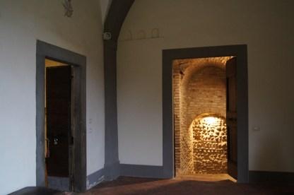 Verso le cantine di Palazzo Sauli