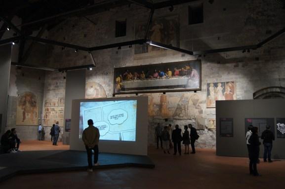 Decorazioni murarie museo dell'affresco