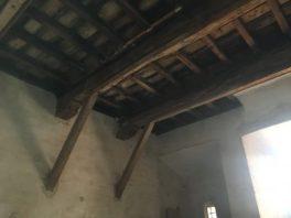 Soffitto primo piano Torre Pallavicina