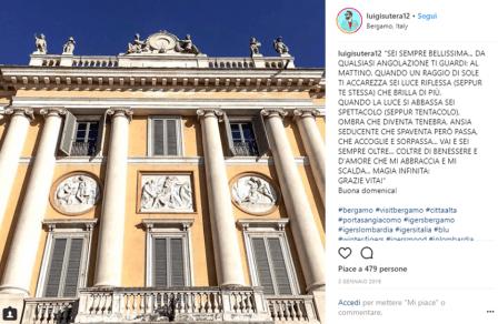 Palazzo Medolago Albani vista da Luigi Sutera