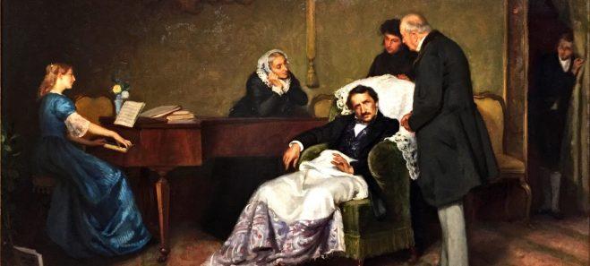 Ponziano Loverini - Ultime ore di Donizetti