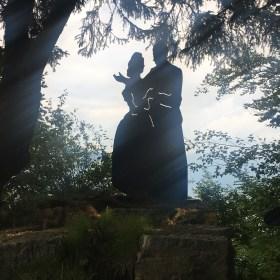 Le silhouette al Salto degli Sposi