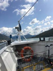 Sul traghetto sul Sebino