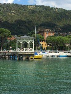 Gazebo sul Lago d'Iseo
