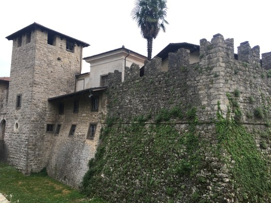 Cinta muraria Castello di Calepio