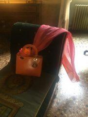 Borsa in rettile Maison Dior