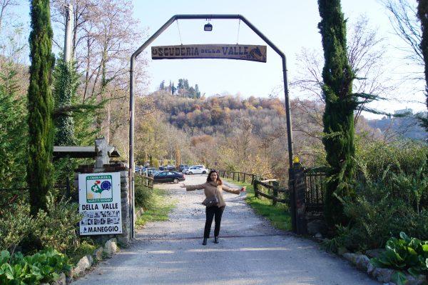 Ingresso Scuderia della Valle Valsecca
