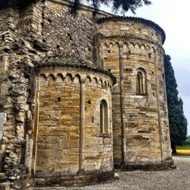 10 Bonate Sotto - abside di Santa Giulia