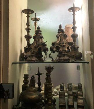 5 candelabri Sant'Andrea in Catello