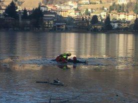 recupero uomo caduto in acqua durante esercitazione