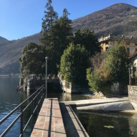 Lungo lago dei Gabbiani a Riva di Solto