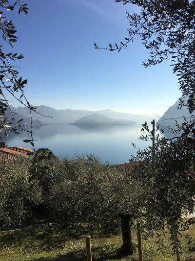 Il lago visto dall'Hotel Miranda di Riva di Solto