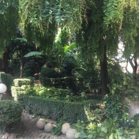 ingresso giardino Villa Pagnoncelli