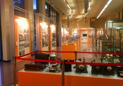 Sala del Museo del Trasporto pubblico bergamasco