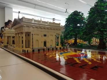 Centro Piacentiniano durante esposizione particolare