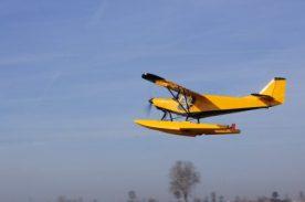 idrovolante della scuola di volo SportAction