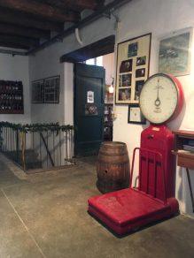 L'ingresso della Cantina Lurani Cernuschi
