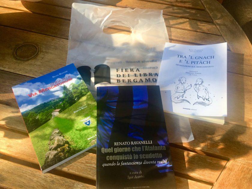Libri acquistati alla Fiera dei Librai di Bergamo 2019