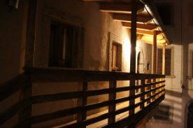 la balconata della Roncaglia di sera