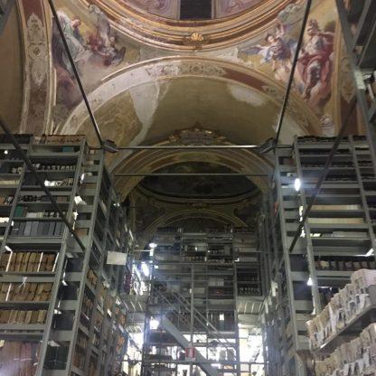 Deposito emeroteca Biblioteca Angelo Mai