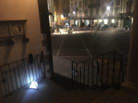 Piazza Vecchia dallo Scalone dei Giuristi