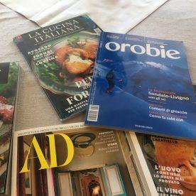 riviste di cucina e Orobie