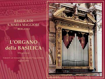 organo Bossi in Basilica Santa Maria Maggiore di Bergamo