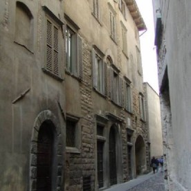 Via Arena in Bergamo Alta