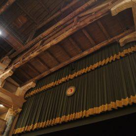 La mantovana del sipario del Teatro Sociale di Bergamo