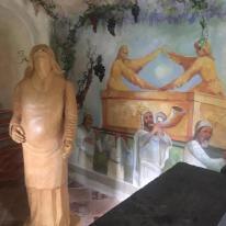 Cappella della Natività e affresco