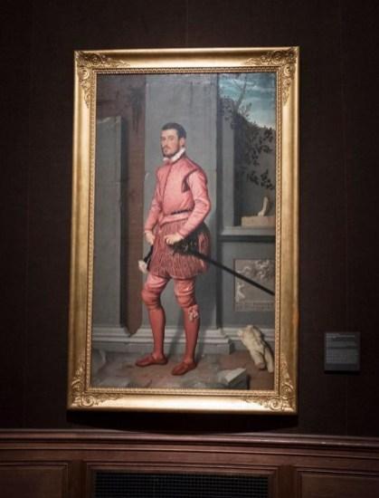 Il Cavaliere in Rosa del Moroni in esposizione temporanea a New York
