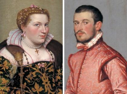 Isotta Brembati e il Cavaliere in Rosa del Moroni