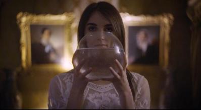 Palazzo Moroni Video Cane secco scena con palla di vetro