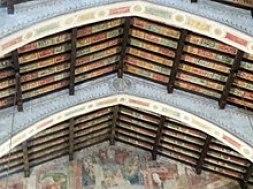 Chiesa di sant'agostino formelle soffitto